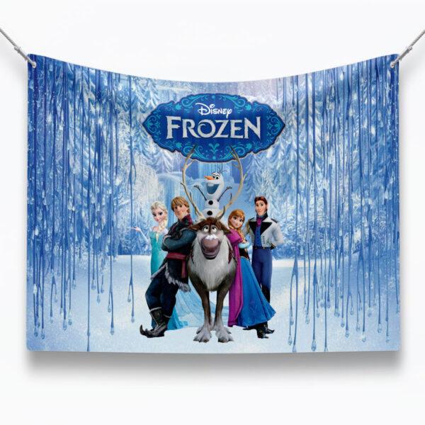 Frozen-birthday-backdrop