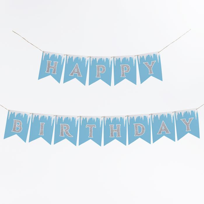 Frozen-birthday-banner