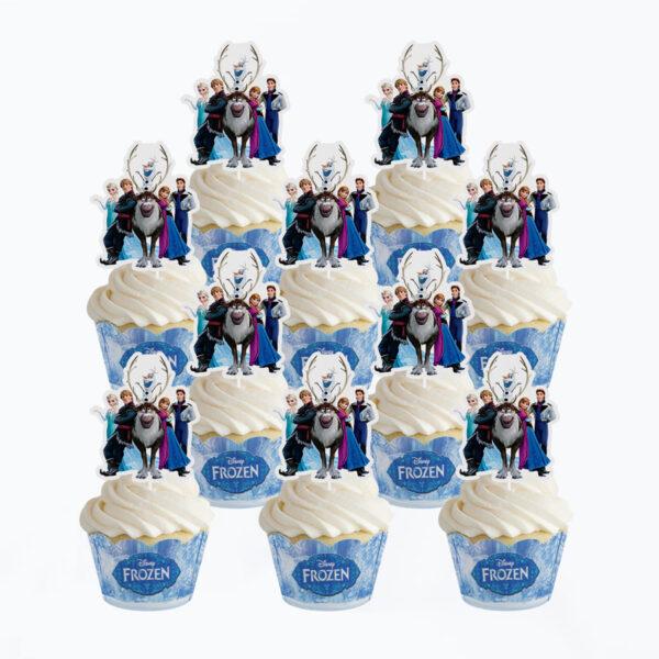 Frozen-cupcake-topper
