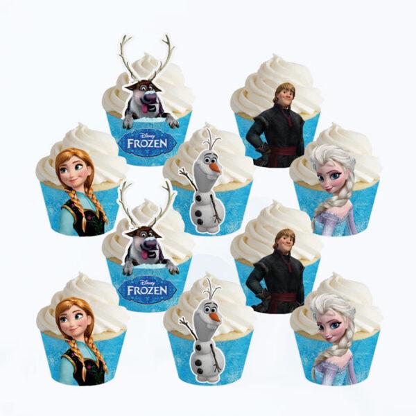 Frozen-cupcake-wrapper