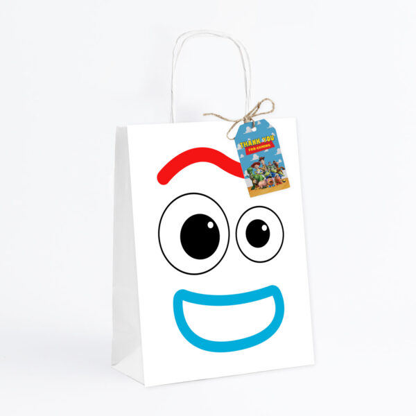 Forky favor bag and tag