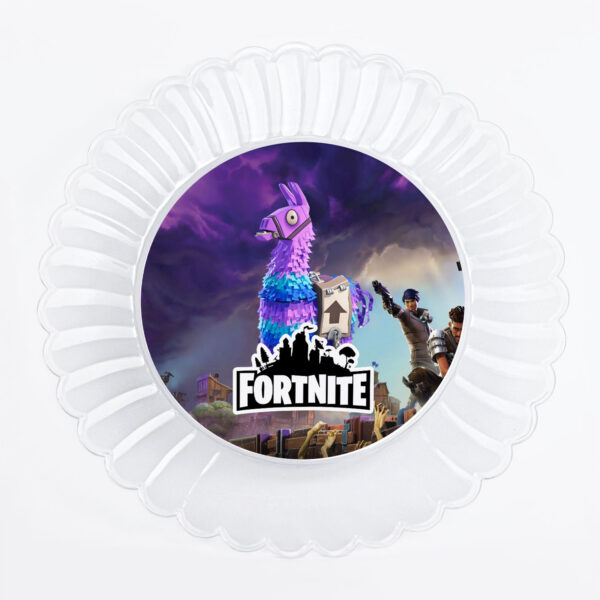 Fortnite party plates