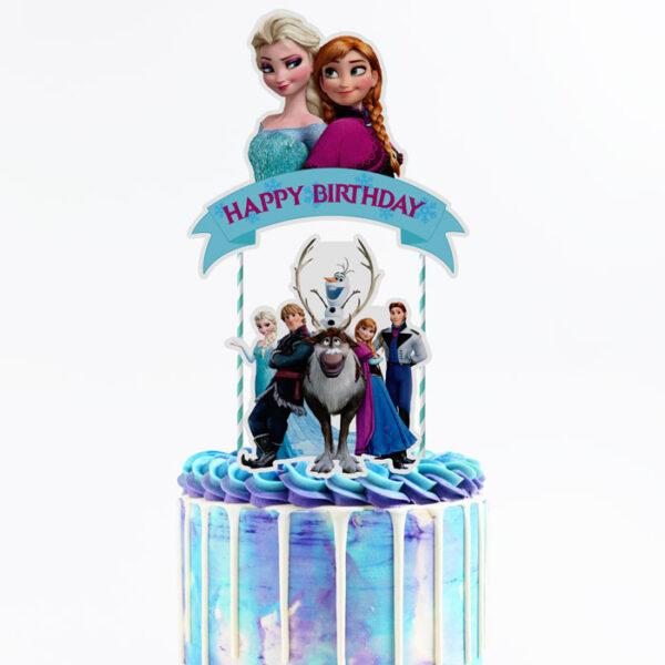 frozen-cake-topper