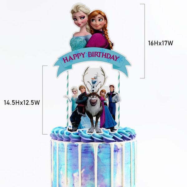 frozen-cake-topper-size-cm