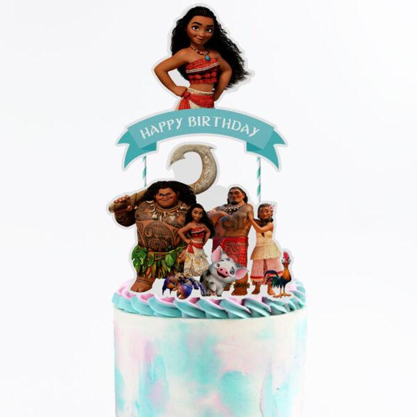 Moana-cake-topper