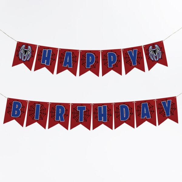 spider-man-birthday-banner