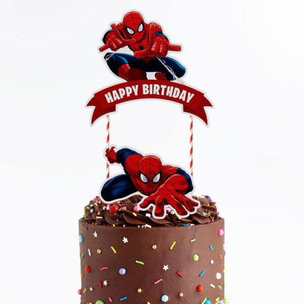 spider-man-cake-topper